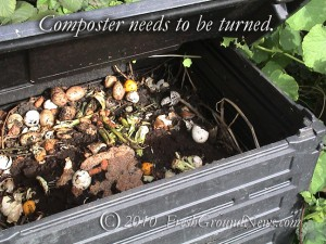Turn your composter